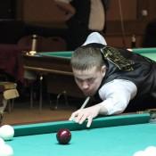 Филиппов Егор, открытый Кубок Кузбасса по бильярду среди инвалидов по слуху 8 февраля 2013 года
