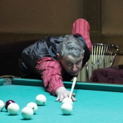 Терещенко Константин, открытый Кубок Кузбасса по бильярду среди инвалидов по слуху 8 февраля 2013 года