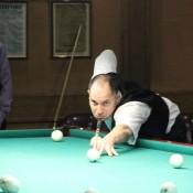 Рыбин Сергей, открытый Кубок Кузбасса по бильярду среди инвалидов по слуху 8 февраля 2013 года
