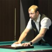 Москаленко Андрей, открытый Кубок Кузбасса по бильярду среди инвалидов по слуху 8 февраля 2013 года