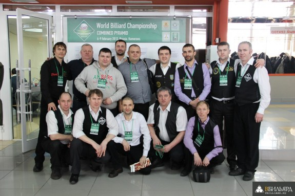 Фоторепортаж с открытого Кубка Кузбасса по бильярду среди инвалидов по слуху, 8 февраля 2013