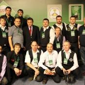 Общее фото, открытый Кубок Кузбасса по бильярду среди инвалидов по слуху 8 февраля 2013 года