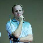 Евгений Салин – чемпион НСО по бильярдному спорту среди мужчин старше 40 лет