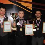 Игорь Филиппов – победитель чемпионата Сибири по бильярдному спорту среди инвалидов по слуху
