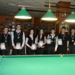 Итоги юношеского первенства Кемеровской области по бильярдному спорту