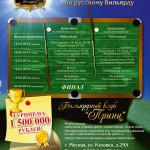 Сидоров и Миронова – победители «Prince Open» 2014