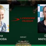 Видео встреч с женского Кубка «Лонгони» 2014