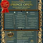 «Prince Open» 2014. Страница турнира