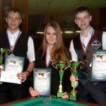Симуткин, Булгаков и Трубникова – первые на  юношеском СФО 2014