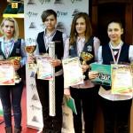 Мария Голяк – чемпионка НСО 2015 по бильярдному спорту