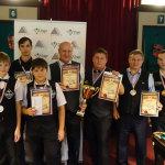 Новосибирцы первые, юные томичи вторые на бильярдном первенстве среди команд
