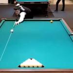Видео о том, как Андрей Фрейзе траекторию шара силой мысли менял!