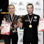 Александр Плотников и Мария Голяк – «комбинированные» чемпионы НСО 2016