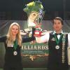 Диана Миронова и Алихан Каранеев - чемпионы мира 2016