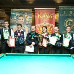 Элина Нагула и Павел Плотников – первые на «Prince Open 2016»