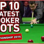 Топ 10 лучших ударов с UK Championship 2016