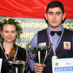Иосиф Абрамов и Диана Миронова побеждают в Сочи на ЧР 2017