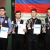 Победитель и призеры чемпионата России 2017 в Сочи по бильярдному спорту