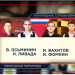 Мужской финал командного ЧМ 2016. ТВ-версия.