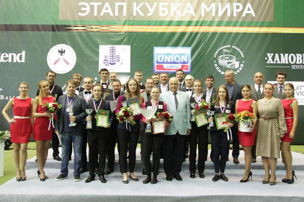 Итоги Кубка Мэра Москвы 2017 по бильярду