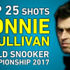 Подборка ударов Ронни с чемпионата мира по снукеру 2017