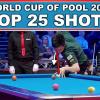 Топ 25 лучших ударов с World Cup Of Pool 2017