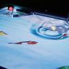 Трюки от Венома на интерактивном пуловском столе